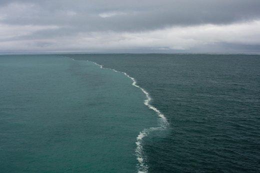 priroda  Место встречи морей