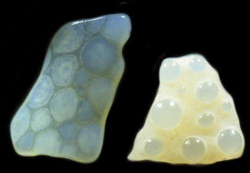 priroda  Песчинки под микроскопом