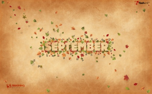 September Bliss 76 in Desktop Wallpaper Calendar: September 2011