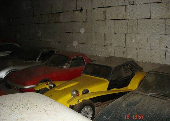 Opel GT, Lotus Elan FHC, Lotus Super Seven серии IV, Lotus Elan DHC.