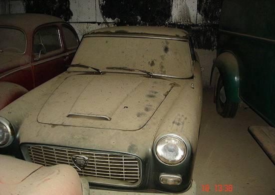 Lancia Flaminia Купе.