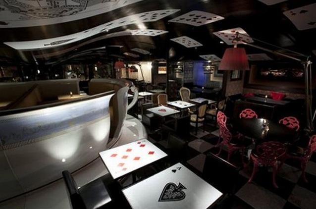 """grafika i dizayn  Ресторан """"Алиса в Стране чудес"""""""