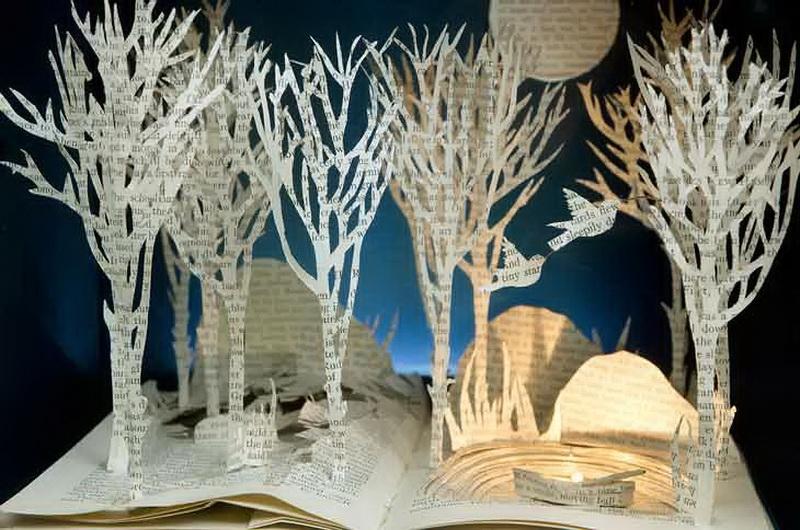 iskusstvo  Бумажный мир Сью Блэквелл