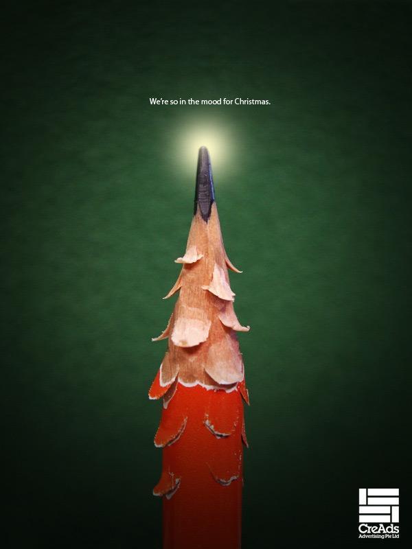 30 Рождественская реклама (40 фото)