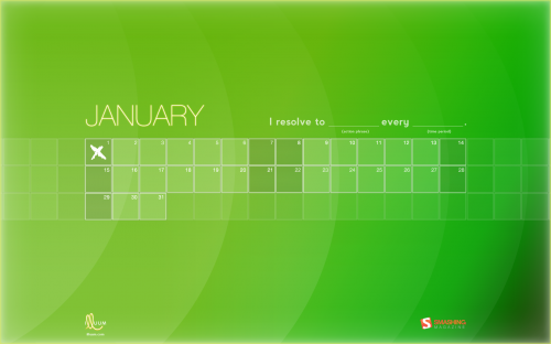 Smashing Desktop Wallpapers - January 2012