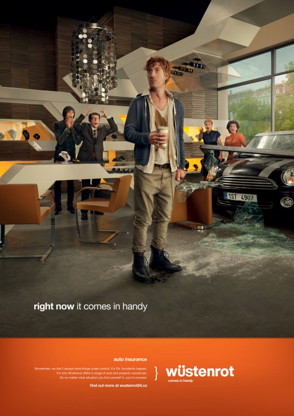 """reklama 2  Черный юмор в рекламе страховок """"Wustenrot"""""""