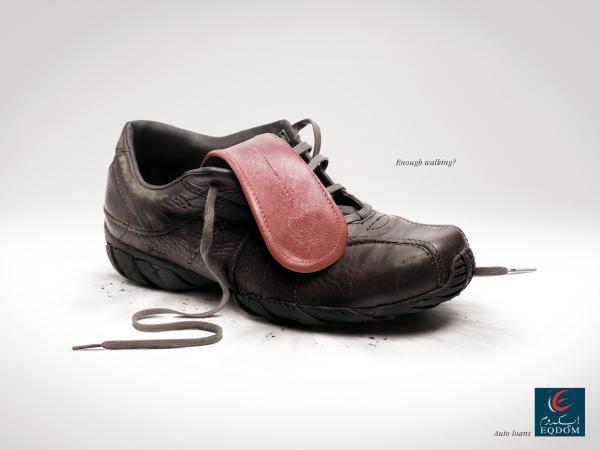 Eqdom: Shoe, Eqdom, Klem Euro Rscg, Печатная реклама