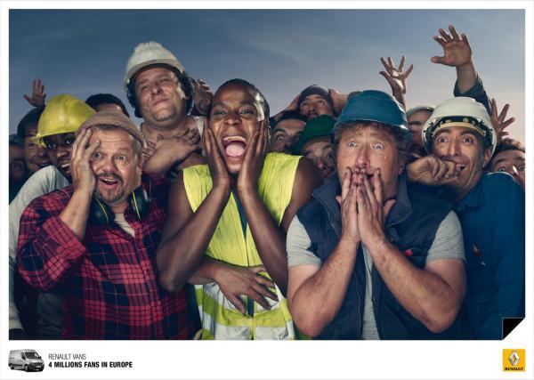 Renault: The fans, 2, Renault, Publicis Conseil, Paris, Renault S.A., Печатная реклама