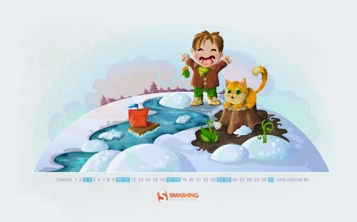 grafika i dizayn  Обои для рабочего стола: март 2012
