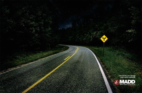 Mothers Against Drunk Driving: Road, Marked For Trade, Печатная реклама