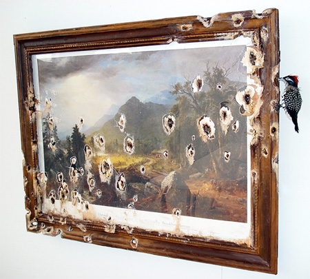 Destroyed Painting