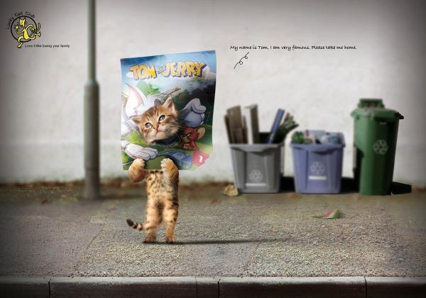 Lucky Cat Club: Tom & Jerry, Печатная реклама