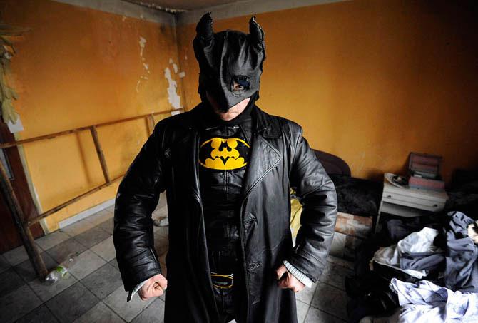 chelovek  Бэтмен из Словакии