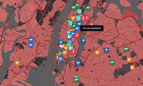internet  Карта выживания в мире зомби апокалипсиса