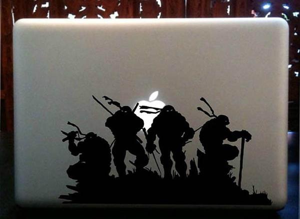 grafika i dizayn  Креативные стикеры для MacBook