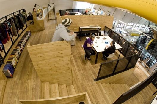 grafika i dizayn  Необычная штаб квартира компании Comvert