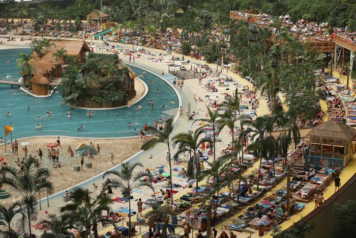 puteshestviya 2 mir interesnyie faktyi  Искусственный тропический курорт