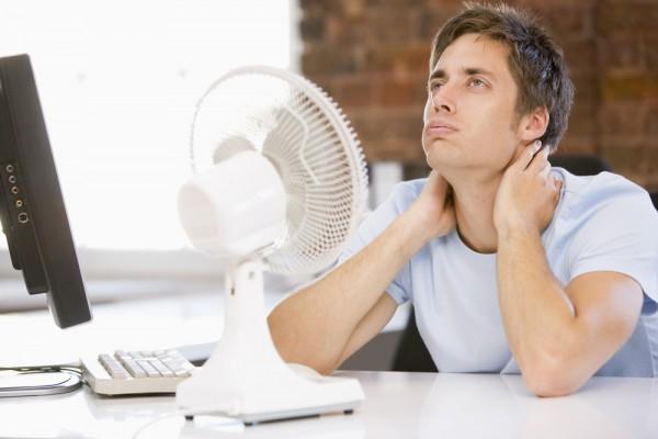 chelovek sovety  Как спастись от жары на работе