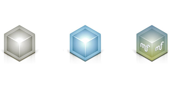 3D Isometric Vector Icon Tutorial - preview.